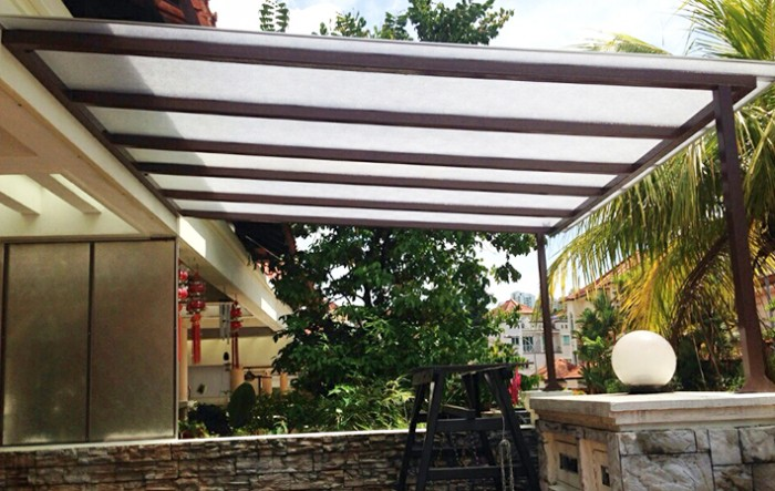 Polycarbonate Roof Elite Deco