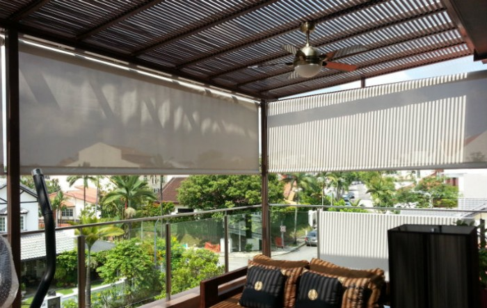 Outdoor Roller Blinds Singapore Elite Deco